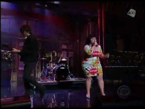 Gossip Standing In The Way Of Control Live Letterman 2008