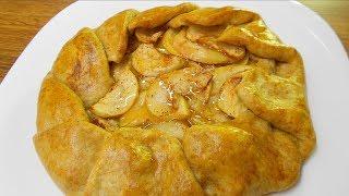 Яблочная галета/Пирог с яблоками/Самый лучший и бюджетный рецепт!