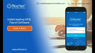 Officenet cloud based hr software ...