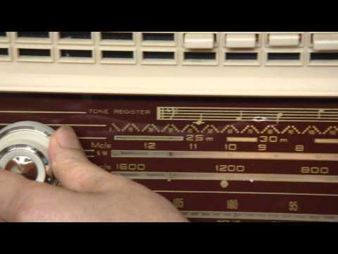 珍正古董收音機有限公司 ( ITEM:669)1950年代 加拿大製造古董收音機