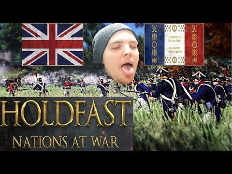AdmiralBulldog Playing HoldFast with Twitch Chat 4k Part 1