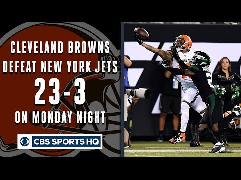 Browns, Odell Beckham Jr. dominate Jets on Monday Night Football | CBS Sports HQ