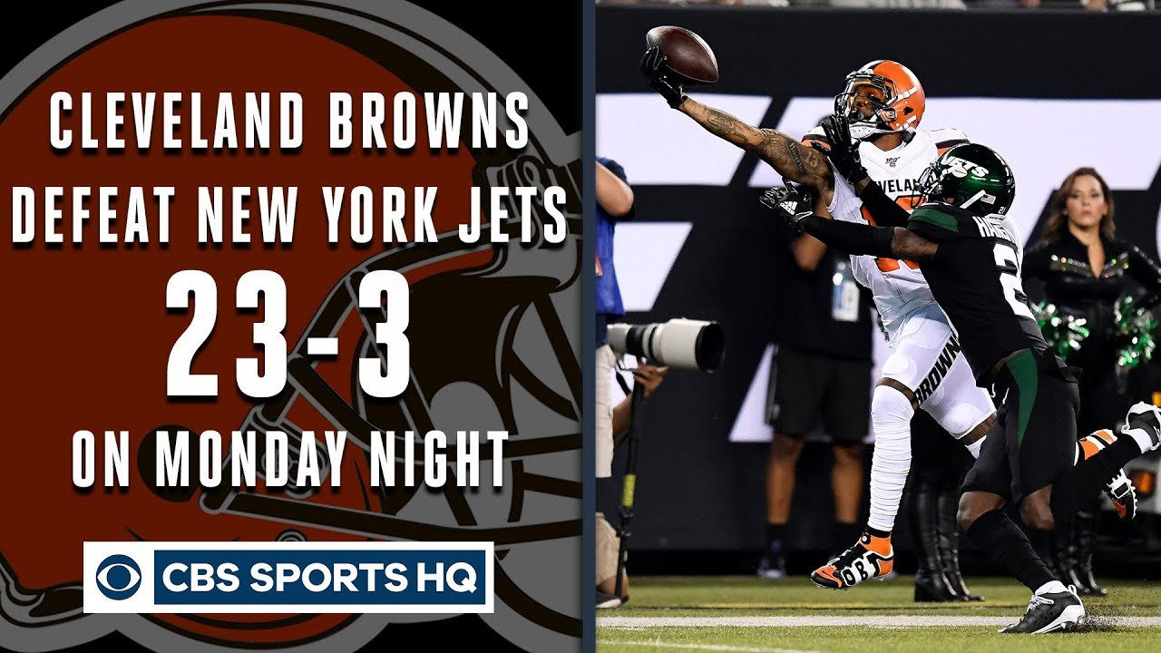 Download Browns, Odell Beckham Jr. dominate Jets on Monday Night Football | CBS Sports HQ