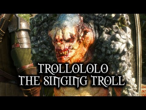 The Witcher 3: Wild Hunt - Trollololo the Singing Troll (The Volunteer quest)
