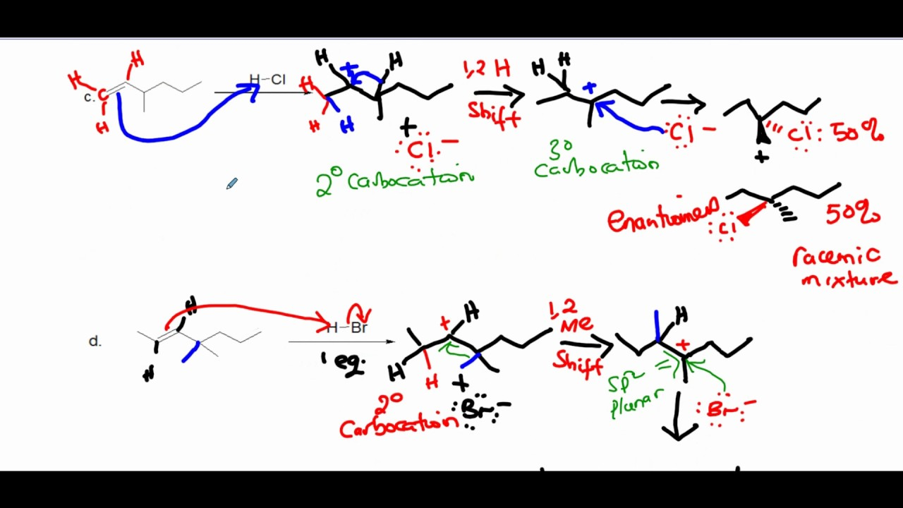 alkene addition report Addition of hbr to cyclohexene introduction in this reaction, we will be adding a concentrated hbr solution to an alkene to produce an alkyl halide.