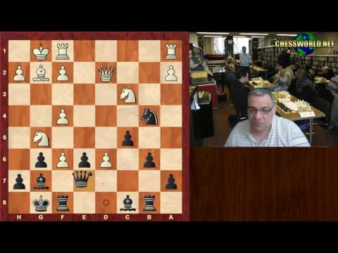 Chess IM norm at 59! : GM  Panchanathan vs FM John C Pigott : Reykjavik Open (2017)
