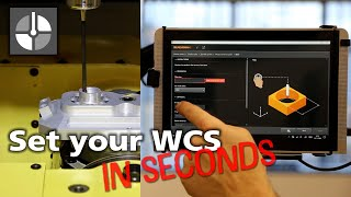 How to set a work offset quickly and easily using Set and Inspect on a Fanuc controller
