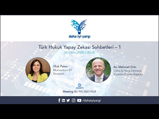 Canlı Yayın: Türk Hukuk Yapay Zekası Sohbetleri - 1