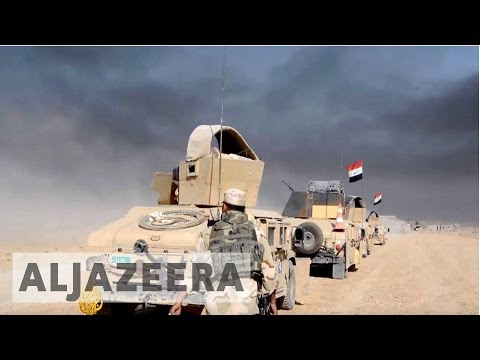 Iraqi forces advance to weaken ISIL stronghold of Mosul
