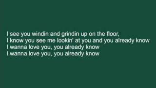 Repeat youtube video Akon - I wanna love you with lyrics