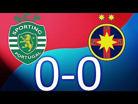 Rezumat   Sporting Lisabona 0-0 Steaua Bucuresti   15.8.2017