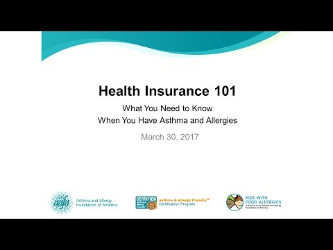 Health Insurance 101 for People with Asthma and Allergies