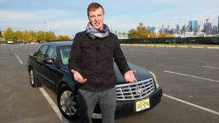 Cadillac DTS - автомобиль президента Америки.  Кадиллак ДТС