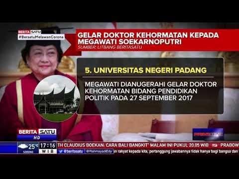 Gelar Doktor Kehormatan Kepada Megawati Soekarnoputri