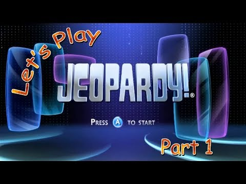 Let's Play Jeopardy! (Wii) - Part 1