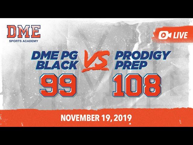 DME PG Black vs. Prodigy Prep