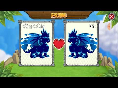 Khủng Long Cấp H Dragon City HNT chơi game Nông Trại Rồng HNT Channel New 296