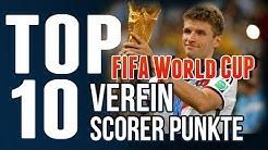 TOP 10 | FUSSBALL - WM 2014 Scorer - die BESTEN VEREINE nach Scorerpunkten | World Cup 2014