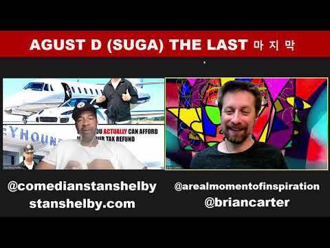 Agust D REACTION The Last 마지막  Lyric Video (Suga from BTS)
