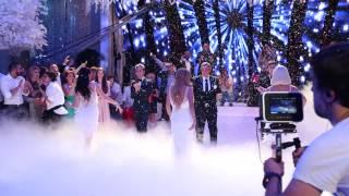 Первый свадебный танец Ксении Бородиной и Курбана Омарова