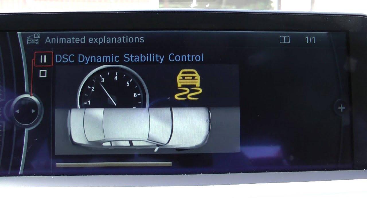 Bmw Dsc Dynamic Stability Control Youtube