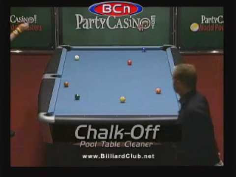 "World Pool Billiard Masters #7 = Tony ""The Tornado"" Drago vs. Thomas ""The Lean Machine"" Engert"