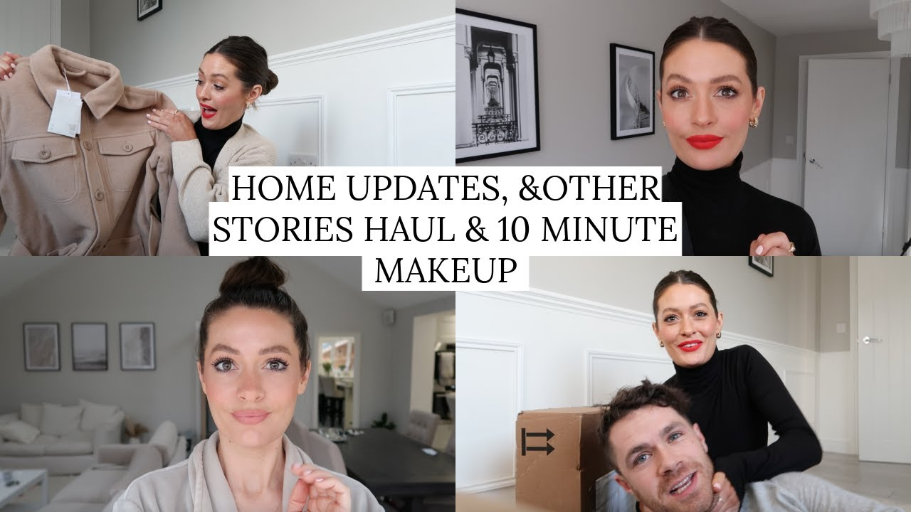 HOME UPDATES & OTHER STORIES HAUL & 10 MINUTE MAKEUP GET READY WITH ME