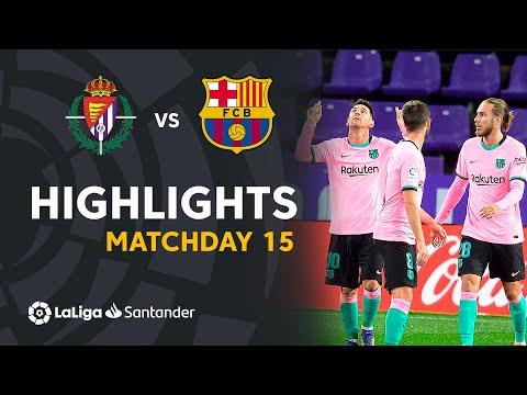 Highlights Real Valladolid vs FC Barcelona (0-3)