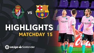 Highlights Real Valladolid vs FC Barcelona (0-3)