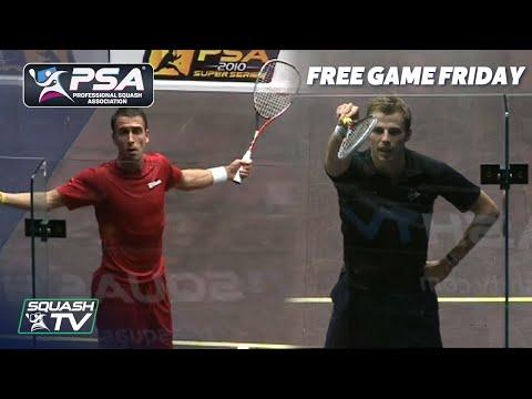 Squash: Barker v Matthew - Australian Open 2010 - Free Game Friday