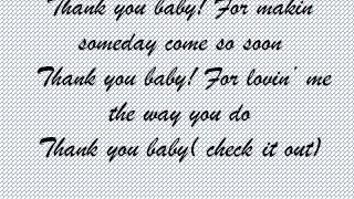 Thank you baby Shania Twain lyrics
