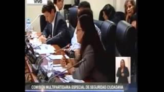 Julia Teves; Intervención en la Comisión de Seguridad Ciudadana