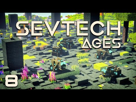 SevTech: Ages EP8 Starting Abyssalcraft + Blood Magic