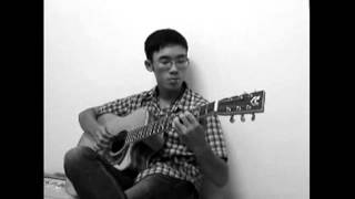 Kiss the rain(Cover by Trung Acoustic)-Guitar solo