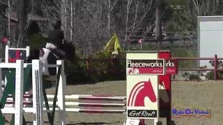 284S Sidney Bashaw on Candy Pop JR Beginner Novice Show Jumping Copper Meadows March 2015