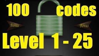 100 Codes - Level 1 - 25