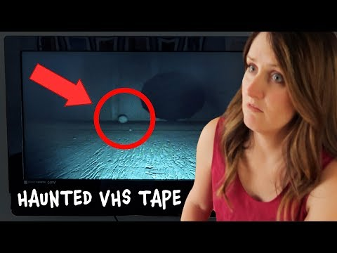 VHS Tape Reveals Ghosts Caught On Camera!  Are Scary Videos Like This Really Haunted??