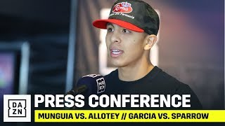 Munguia vs. Allotey // Garcia vs. Sparrow Final Press Conference
