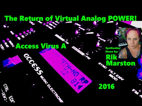 Access Virus A 2016 Return of Virtual Analog POWER! Synthesizer Synth Rik Marston EBM