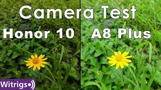 Honor 10 vs Samsung galaxy A8 Plus Camera Test | Camera comparison