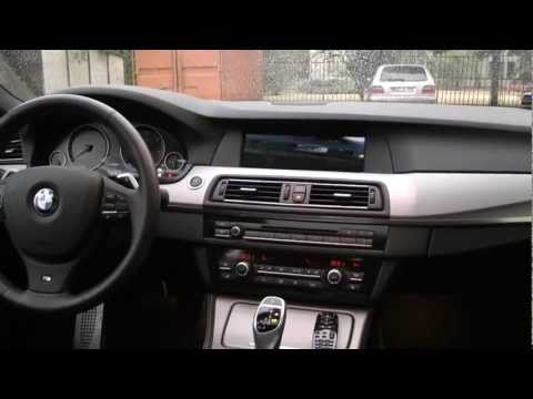 BMW F10 (5 series) multimedia interface, multimedia player [hondati.hu]