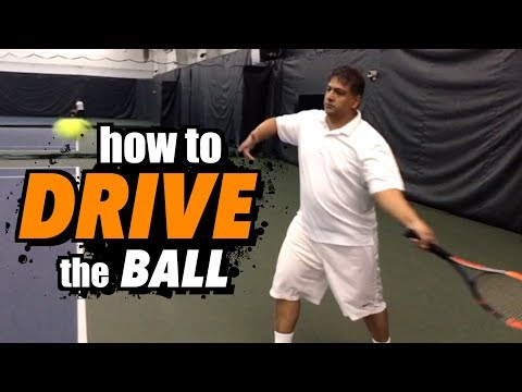 How To Drive the Ball for more POWER - Ultimate Forehand Tennis Lesson