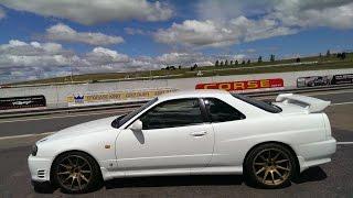 Nissan R34 Skyline GTT Wakefield Park 2014 Australia