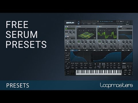 Download a free collection of Serum synth presets from