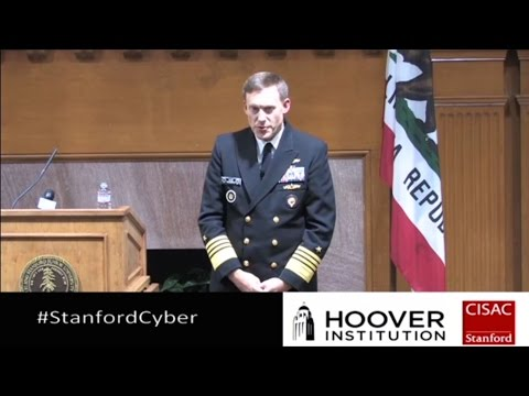 Stanford Community Lecture with NSA Director Admiral Mike Rogers