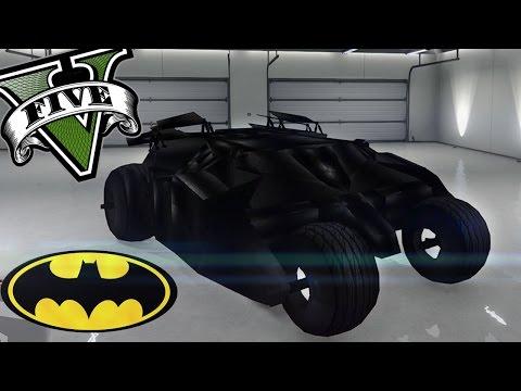 GTA 5 - EL COCHE DE BATMAN!! - Los coches mas raros del mundo - NexxuzHD