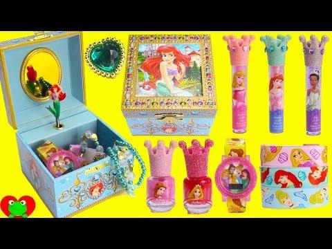 Disney Princess Ariel Makeup Lip Glosses and Surprises