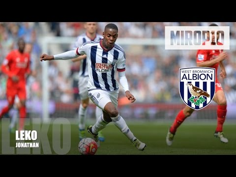 JONATHAN LEKO ✭ W.B.A ✭ THE NEW EPL SUPERSTAR |Skills & Goals| 2016