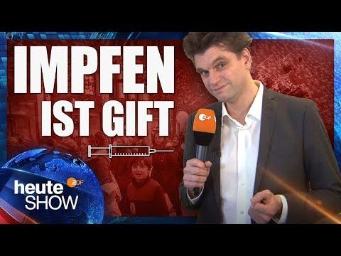 Lutz van der Horst trifft auf Impfverweigerer | heute-show vom 10.11.2017