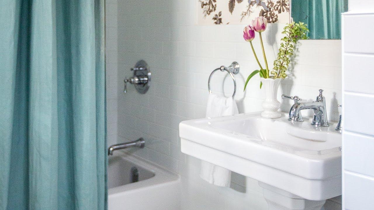 Small Bathroom Makeover: Where To Save U0026 Splurge